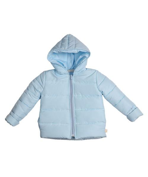 Baby Gi AW21 Boys Blue Padded Jacket With Hood BG92A
