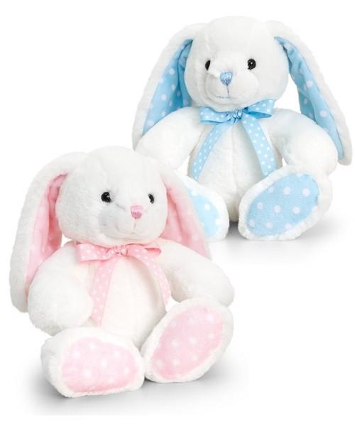 Assorted Spotty Rabbit White/Pink KTSN0786