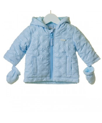 Blues Baby Blue Boys Hooded Jacket TT0004