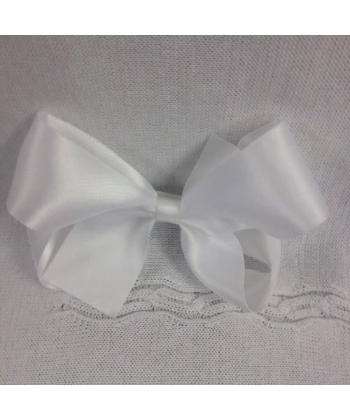 Girls XL satin 5 inch bow