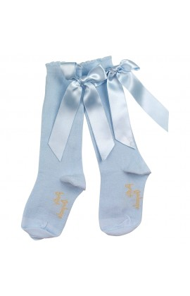 d6f59997ac351 Designer baby girl accessories - Ribbon Pom Pom Socks