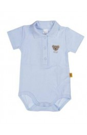 Steiff Blue Bodysuit Short Sleeves 0008703