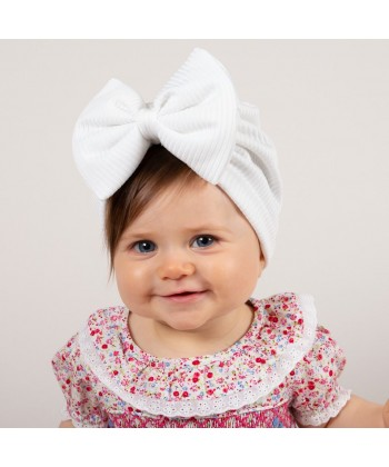 Caramelo Kids White Turban