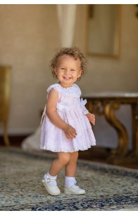 5a8dabf31 Dolce Petit SS19 Baby Girls Pink Tulle Dress 2113-VB