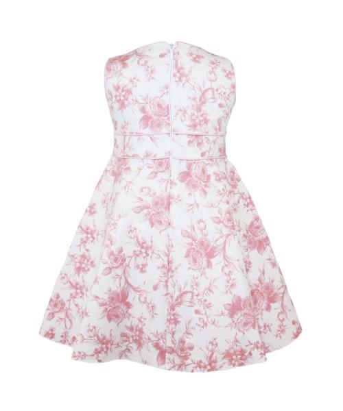 Abella Pink Floral Print Dress