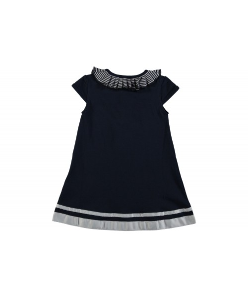 Le Chic Baby Girls Navy  Dress 7801