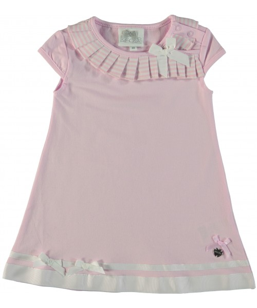 Le Chic Baby Girls Pink Dress 7801