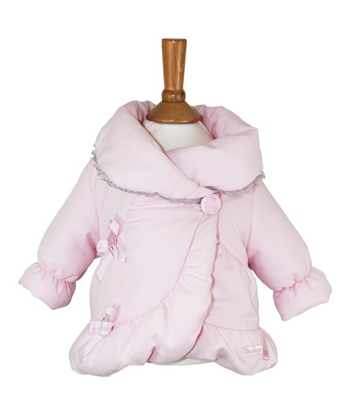 Little Darlings Pink Padded Puffa Style Jacket Winter Sundae 3030