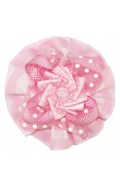 Little Darlings Pink Candy Flowers Clip 4045