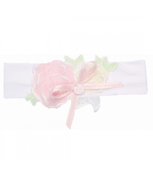 Little Darlings Headband White 4121
