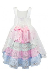 Little Darlings Candy Flowers Dress 4027