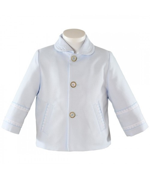Miranda Boys Jacket/Coat White 0112-CH (picture for style only)