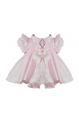 51ec86a8ebe9d Pretty Originals Girls White Bow Dress MT00819E (picture for style only)