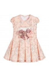 Little Darlings Pretty in Peach Dress