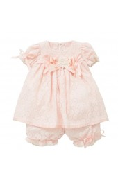 Little Darlings Dress & Bloomer Set Feeling Peachy