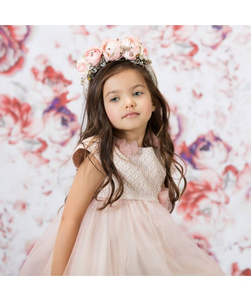 Patachou Pink Baby Tulle Girl Dress