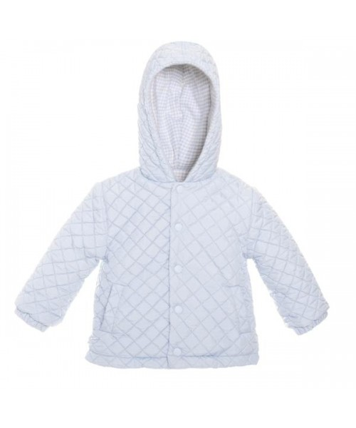 Patachou Boys Blue Quilted Jacket