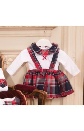 9300fa1f27 Patachou Girls Tartan Skirt Set With Ruffle Top 3185/3181