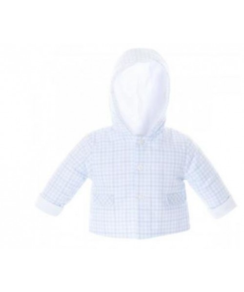 Patachou Boys Soft Baby Blue Jacket
