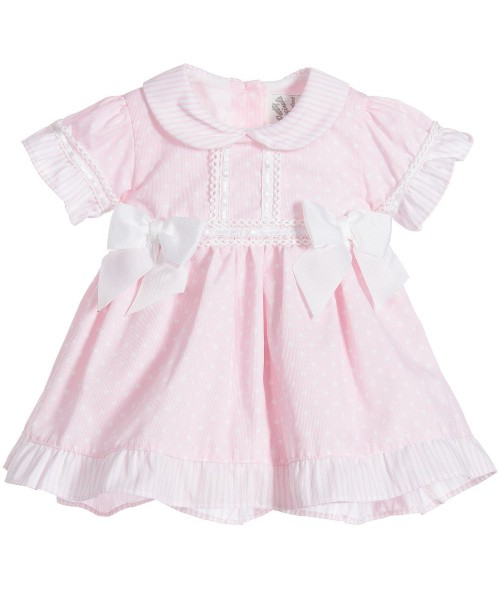 Pretty Originals Girls Pink Dress & Pants MB10641 (picture for style only)