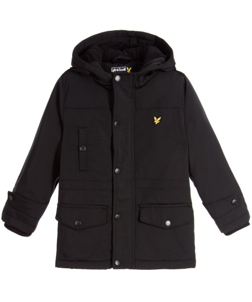 Lyle & Scott Junior Black Jacket